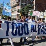 Santiago del Estero: Docentes volvieron a movilizarse por un aumento y blanqueo de salarios