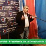 Carlos Traboulsi impulsa el crecimiento de la Democracia Cristiana porteña