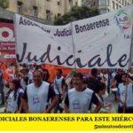 LOS JUDICIALES BONAERENSES PARA ESTE MIÉRCOLES Y JUEVES