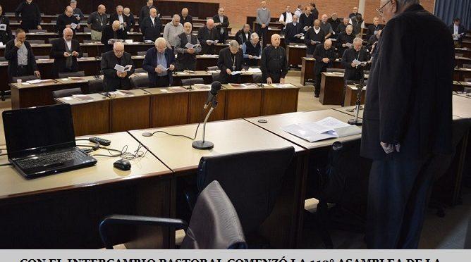 CON EL INTERCAMBIO PASTORAL COMENZÓ LA 113° ASAMBLEA DE LA CONFERENCIA EPISCOPAL ARGENTINA