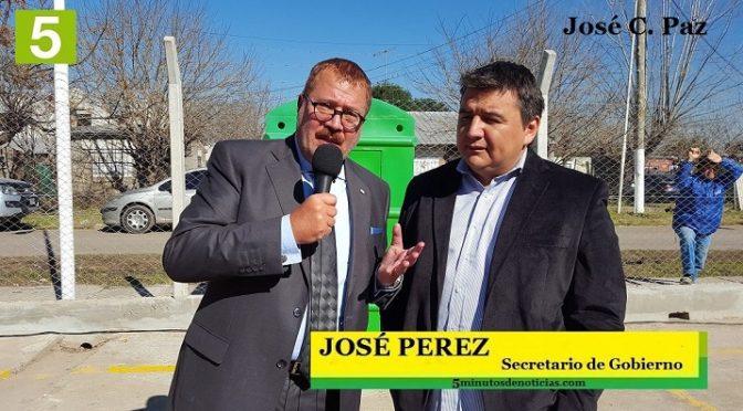 """JOSÉ PEREZ: """"Un orgullo pertenecer a este proyecto político de inclusión que lidera Mario Ishii"""""""