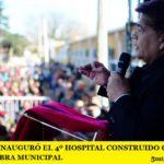 MARIO ISHII INAUGURÓ EL 4º HOSPITAL CONSTRUIDO CON FONDOS Y MANO DE OBRA MUNICIPAL
