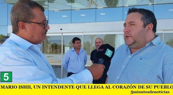 MARIO ISHII, UN INTENDENTE QUE LLEGA AL CORAZÓN DE SU PUEBLO