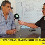 """RODOLFO PINO: """"EN OBRAS, MARIO ISHII HA DADO EL EJEMPLO"""""""