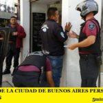 LA POLICÍA DE LA CIUDAD DE BUENOS AIRES PERSIGUE A LOS CURTIDORES