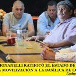 RICARDO PIGNANELLI RATIFICÓ EL ESTADO DE ALERTA DE SMATA Y LA MOVILIZACIÓN A LA BASÍLICA DE LUJÁN