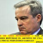 LOS JUDICIALES BONAERENSES REPUDIAN EL ARCHIVO DE UNA DENUNCIA CONTRA EL FISCAL FERNÁNDEZ GARELLO