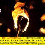 CONVOCADOS POR PABLO MOYANO, LAS CTA Y LA CORRIENTE FEDERAL, EL FRENTE SINDICAL MARCHA CONTRA LOS TARIFAZOS