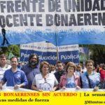 DOCENTES BONAERENSES SIN ACUERDO | La semana próxima lanzan nuevas medidas de fuerza