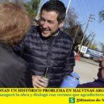 SOLUCIONAN UN HISTÓRICO PROBLEMA EN MALVINAS ARGENTINAS