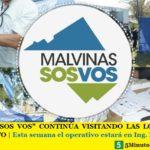 """""""MALVINAS SOS VOS"""" CONTINÚA VISITANDO LAS LOCALIDADES DEL DISTRITO   Esta semana el operativo estará en Ing. Pablo Nogués"""