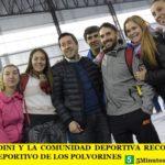 LEO NARDINI Y LA COMUNIDAD DEPORTIVA RECORRIERON EL POLIDEPORTIVO DE LOS POLVORINES
