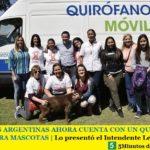 MALVINAS ARGENTINAS AHORA CUENTA CON UN QUIRÓFANO MÓVIL PARA MASCOTAS | Lo presentó el Intendente Leo Nardini