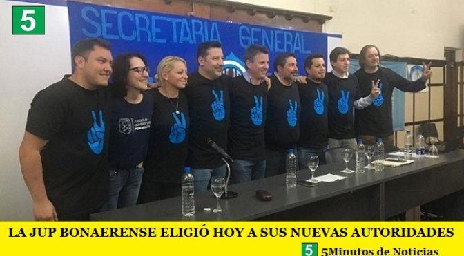 LA JUVENTUD UNIVERSITARIA PERONISTA BONAERENSE ELIGIÓ HOY A SUS NUEVAS AUTORIDADES