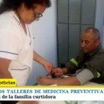 COMENZARON LOS TALLERES DE MEDICINA PREVENTIVA BRINDADOS POR OSPICA   La salud de la familia curtidora
