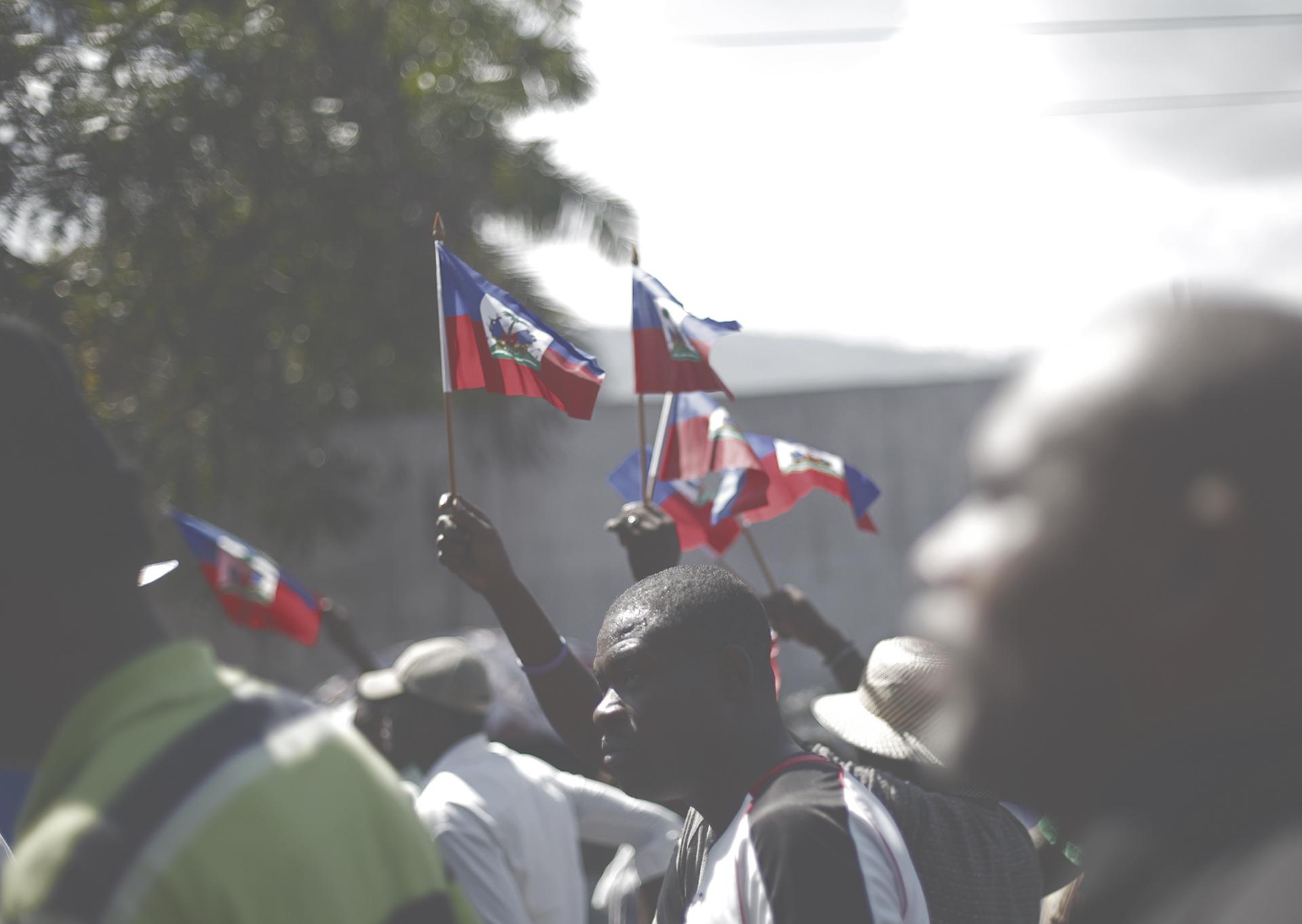 Un message au peuple d'Haïti Toma