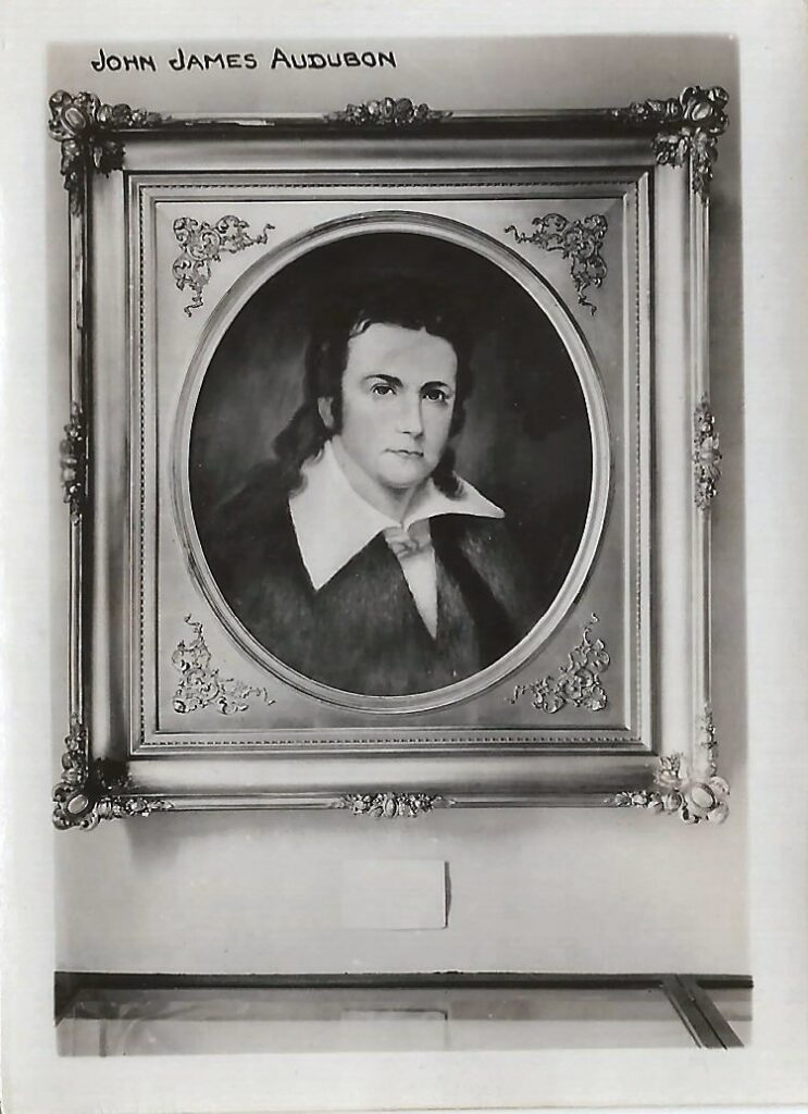 Photograph of portrait of John James Audubon by Lida Williams