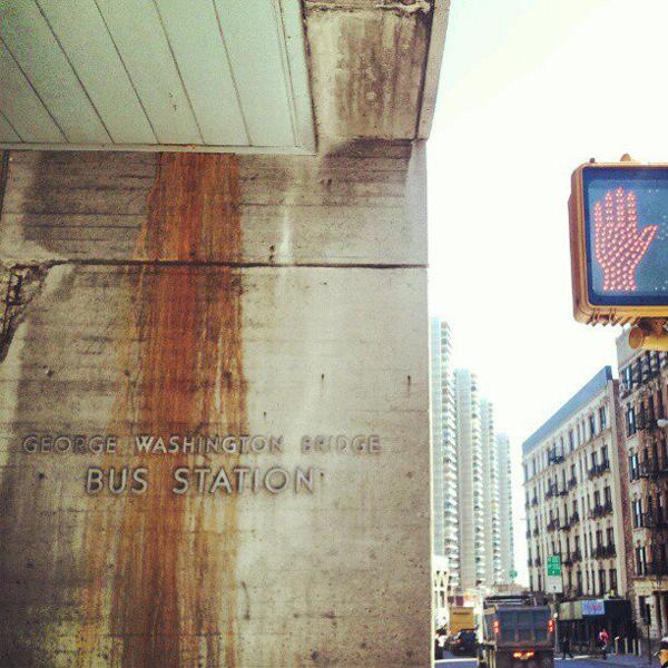 Bus Station 178th Street Washington Heights