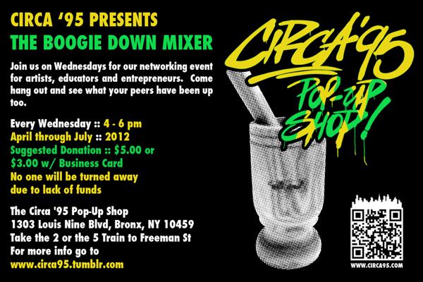 Circa 95 Boogie Down Mixer
