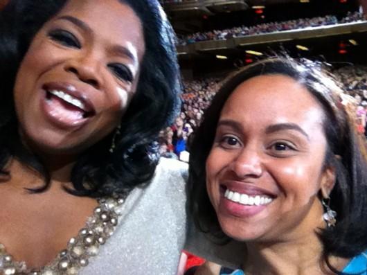 Eileen Z. Fuentes & Oprah Winfrey Master Class Tour