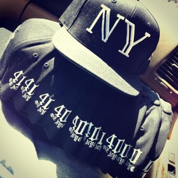 40 Oz NYC Balmain Snapback