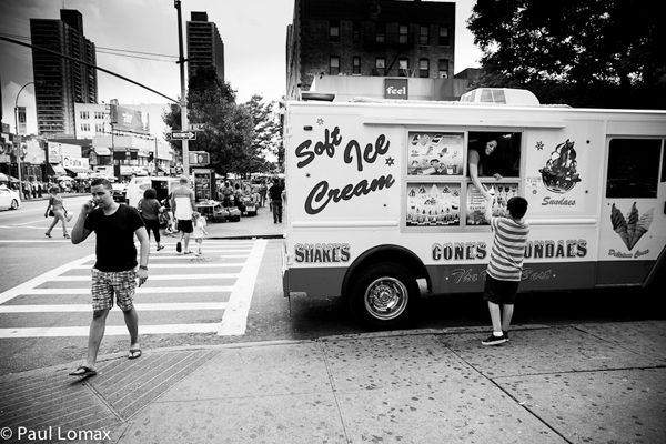 Washington Heights Ice Cream Truck - Paul Lomax