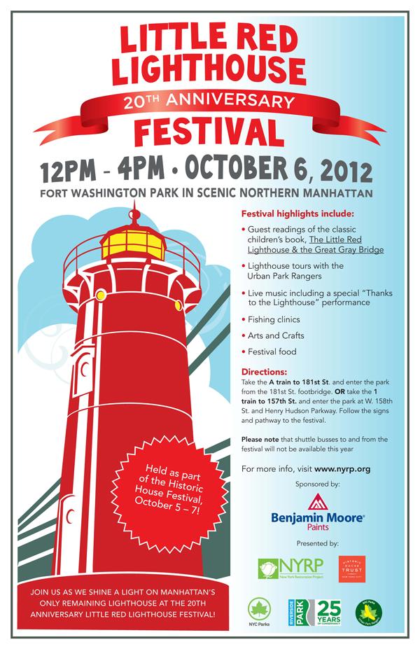 Little Red Lighthouse Festival 2012