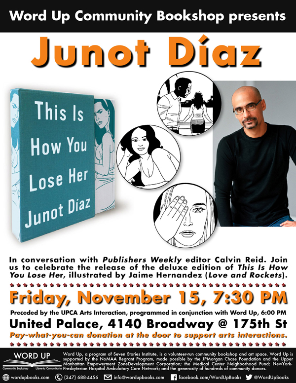 Junot Diaz - United Palace