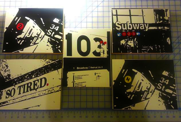 NYC Vinyl Art Reception
