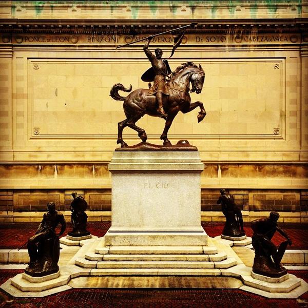 El Cid - The Hispanic Society of America - Washington Heights