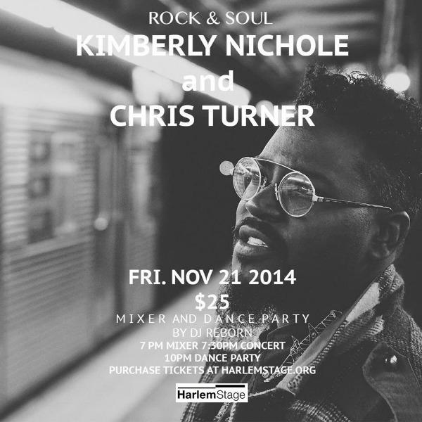 Chris Turner - Harlem Stage