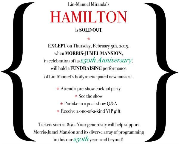 Morris Jumel - Lin-Manuel - Hamilton-Fundraiser