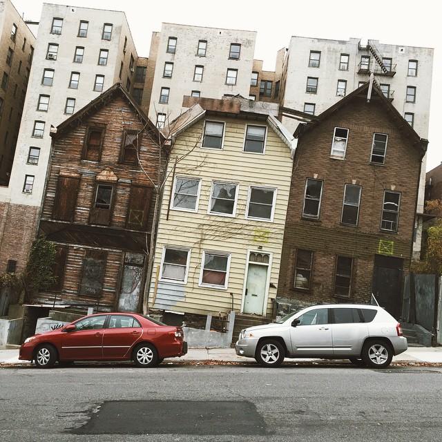 Washington Heights Houses 187th Street