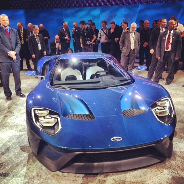 2015 North American International Auto Show - Ford GT