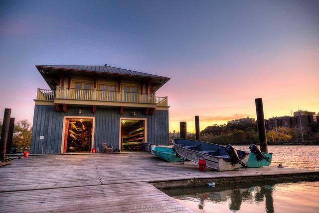 Jay Sharp Boathouse - Washington Heights - Inwood