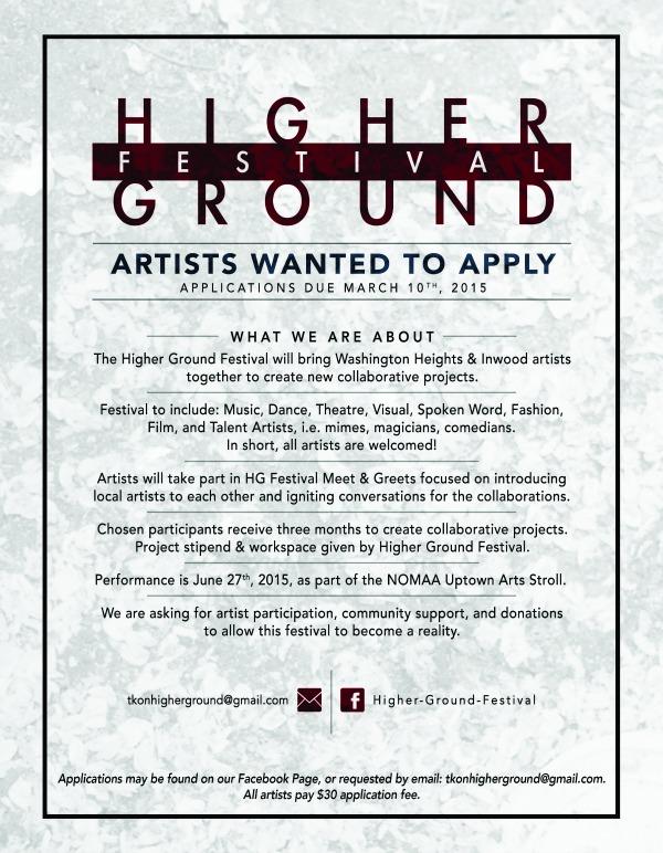 Higher Ground Festival - Washington Heights