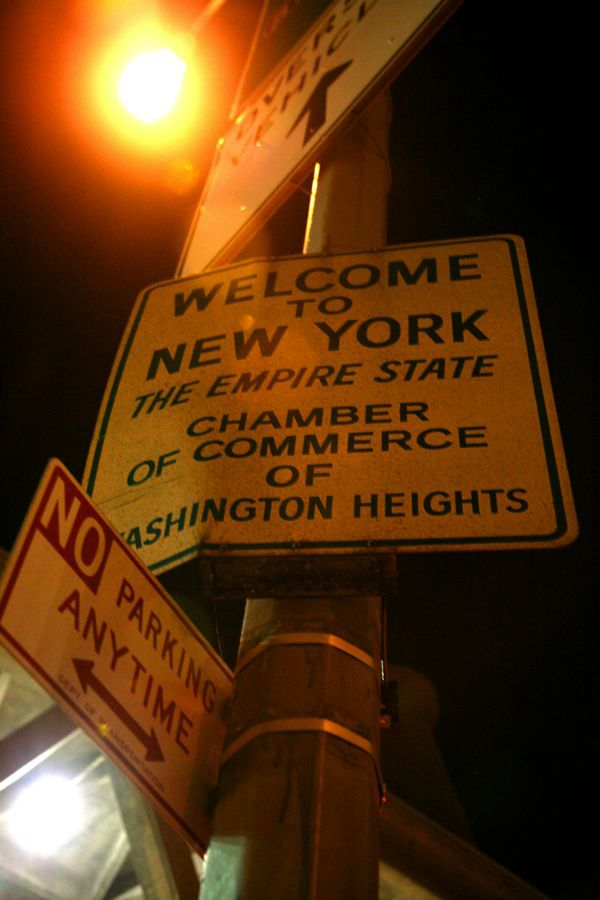 Washington Heights Sign