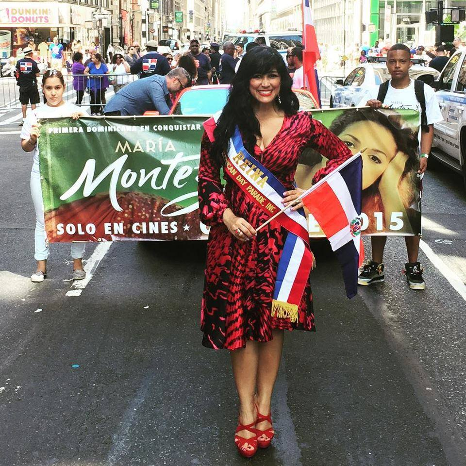 Celines Toribio - Maria Montez - Dominican Day Parade