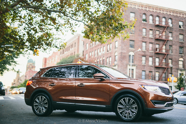 2016 Lincoln MKX - Color - Amsterdam Ave