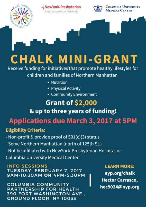 UC - CHALK Mini-Grant