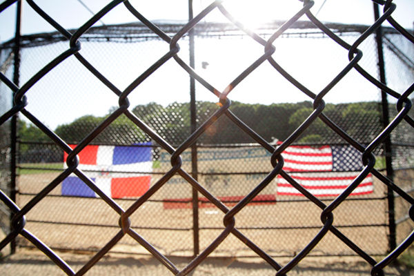 Inwood Hill Park - Dominican & American Flags