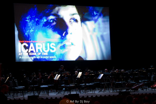 Icarus at the Edge of Time - United Palace Washington Heights