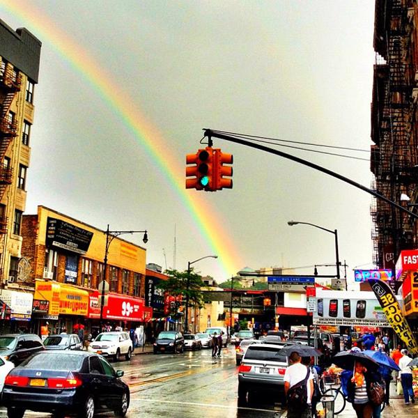 Rainbow 207th Street Inwood Washington Heights