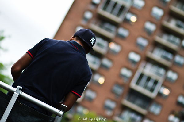 Dyckman Park Basketball - Washington Heights, NYC