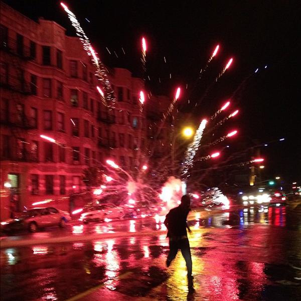 Fire Works Washington Heights
