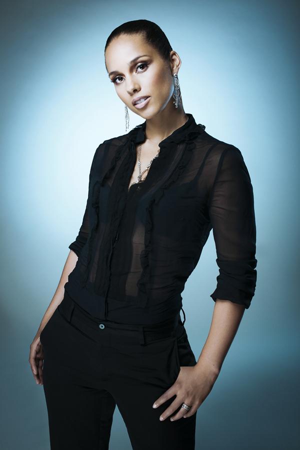 Alicia Keys photographed by John Wright