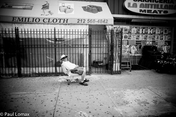 Lounging Uptown - Washington Heights - Paul Lomax