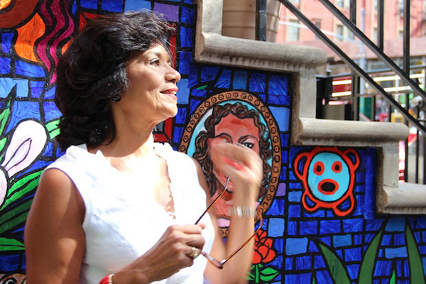 Sonia Manzano Casa Azul Bookstore