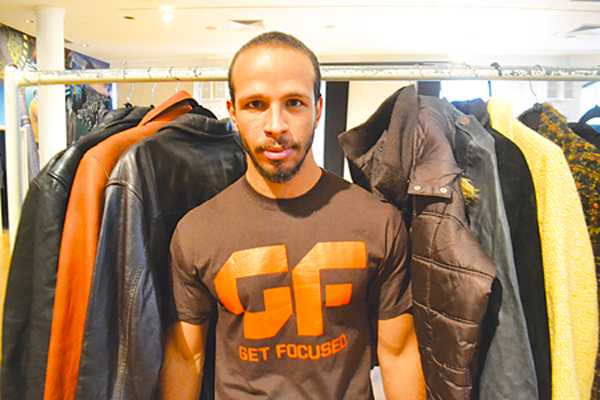 Goldin Martinez of Get Focused Fitness