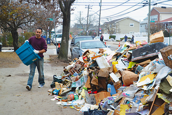 Hurricane Sandy - Far Rockaway - Washington Heights